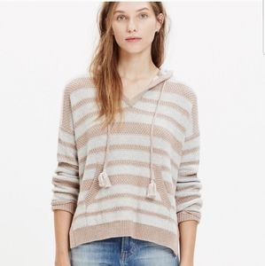 Madewell Hooded Strip Sweater